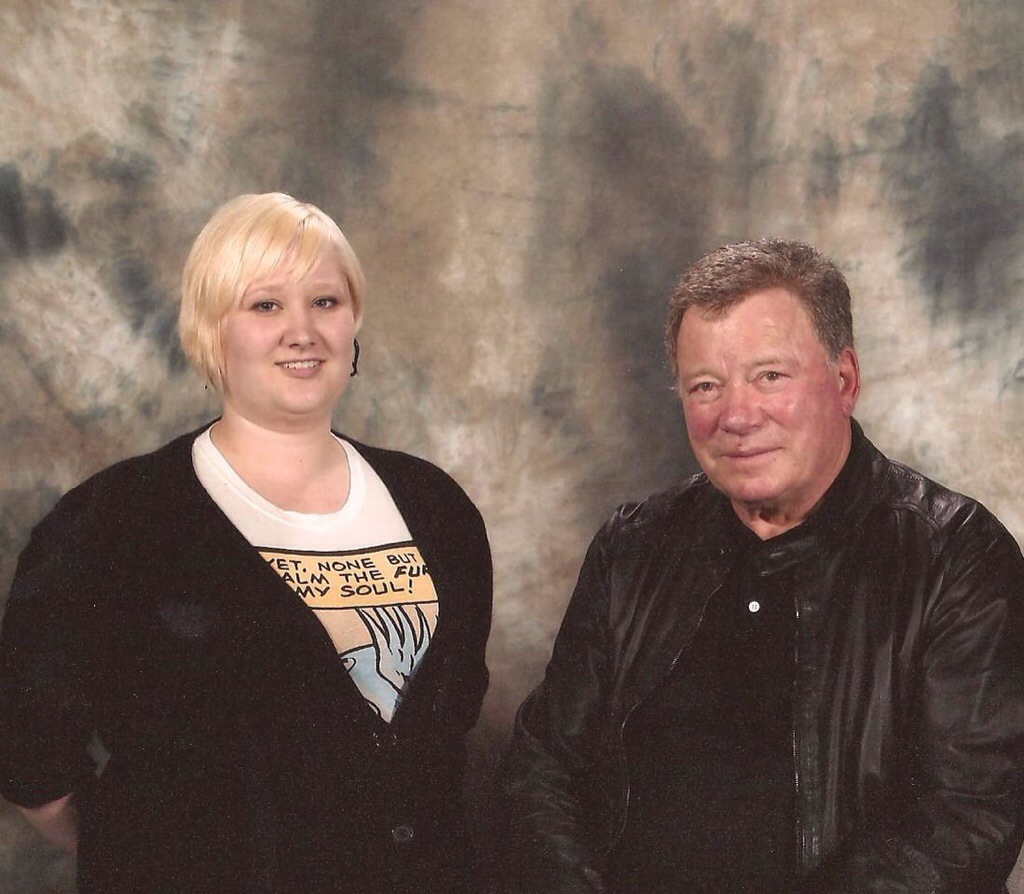 Meet William Shatner back in 2010