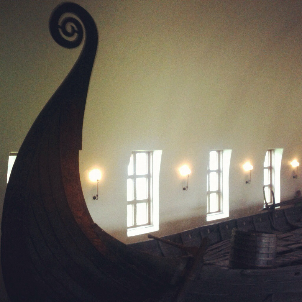 Taken at the Viking Ship Museum in Oslo, Norway