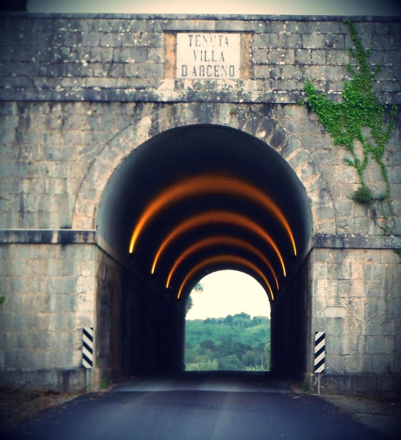 Arceno Winery Entrance