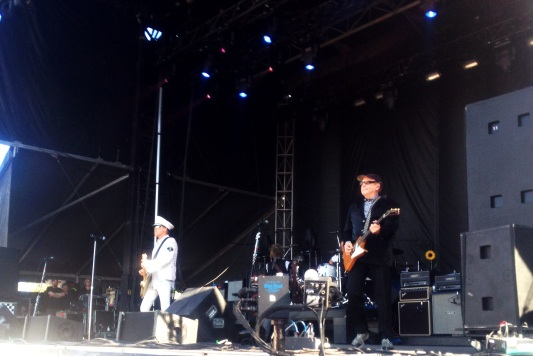 Cheap Trick's lead guitarist Rick Nielsen. Taken during the 2013 Stampede Round Up
