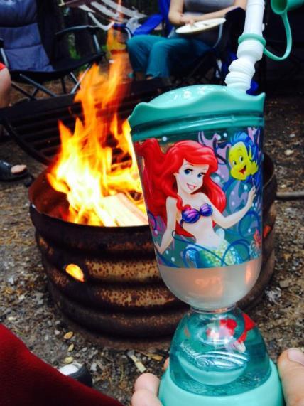 Disney Meets Camping