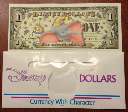 Recent Disney Dollar